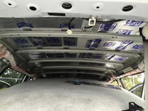 Headliner removal