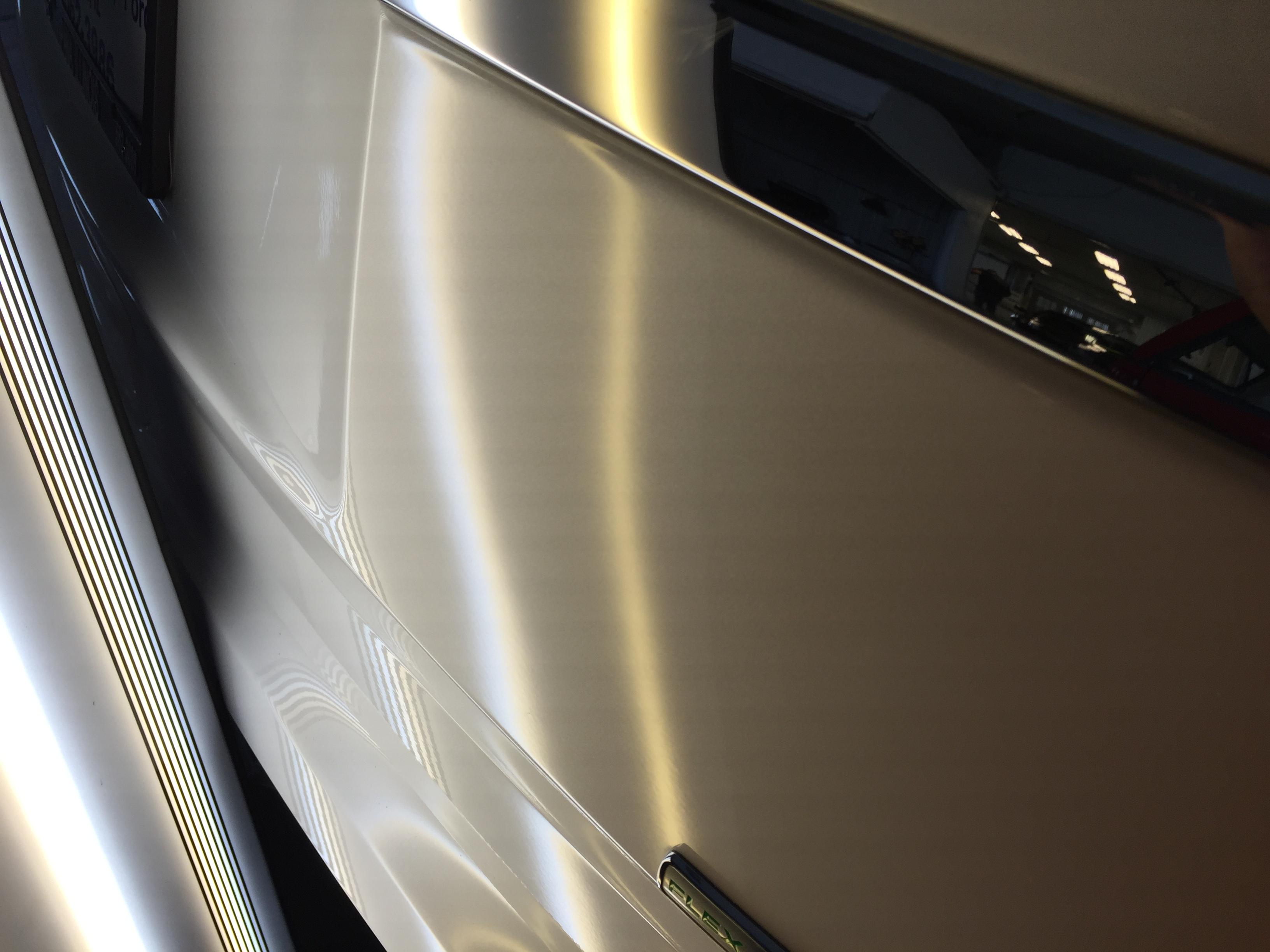 2014 Ford Explorer XLT Tri Coat White, Paintless Dent Repair Rear Gate, Springfield IL, Pana IL Taylorville IL