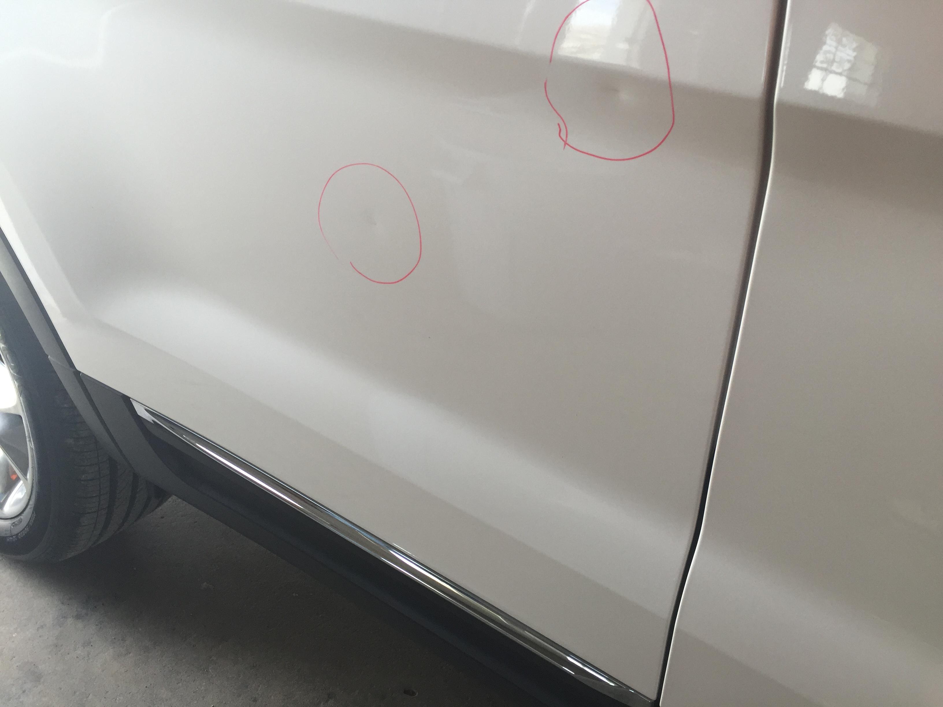 2014 Ford Explorer XLT Tri Coat White, Paintless Dent Repair Springfield IL, Pana IL Taylorville IL