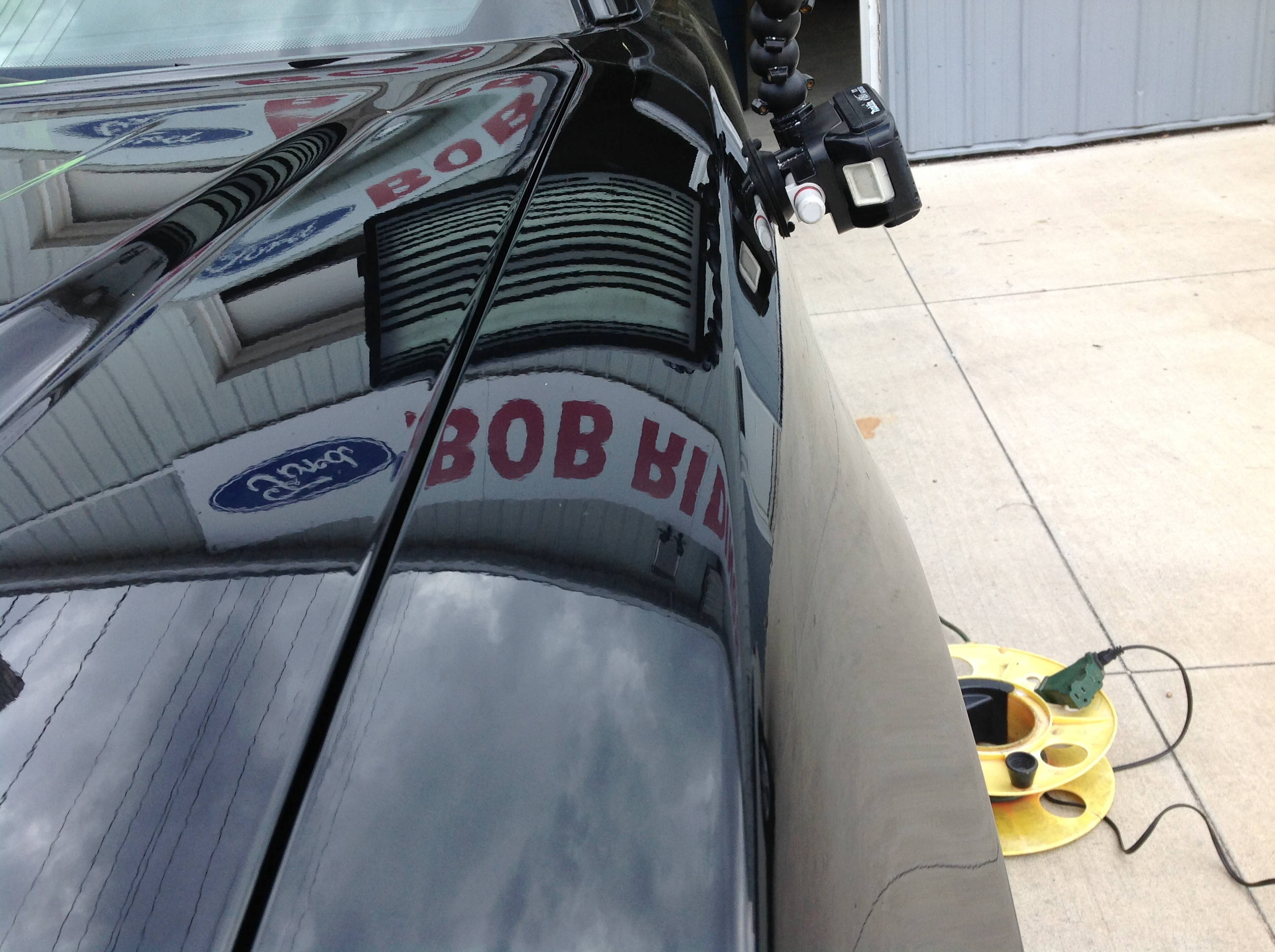 2011 Dodge Charger Driver's Fender Dent Removal, Springfield IL, Taylorville IL, Decatur IL, Mobile Dent Repair http://217dent.com