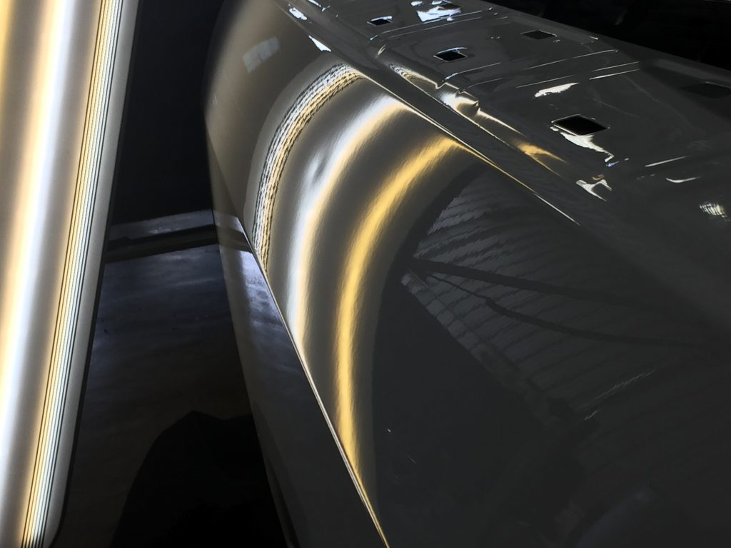 2013 Dodge Ram Dent in Bed side of Vehicle, Removed with Mobile Dent Removal Springfield IL, http://217dent.com