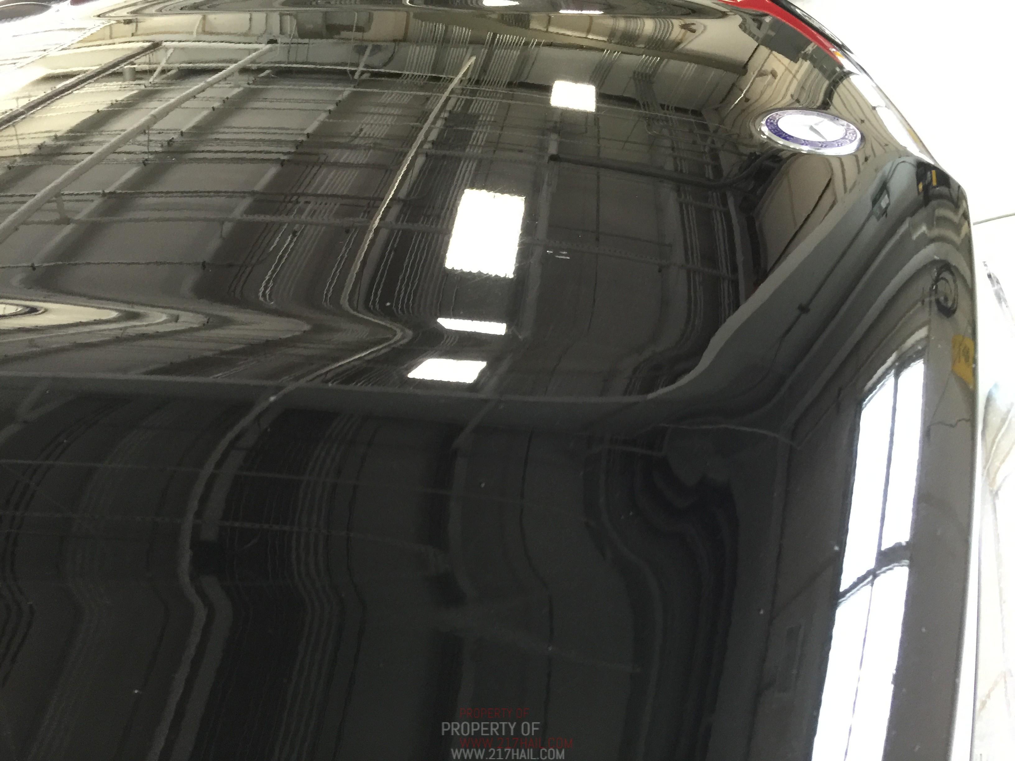 2012 GL450 Mercedes Benz Aluminum Hood Dent Removal, Springfield, IL Http://217dent.com