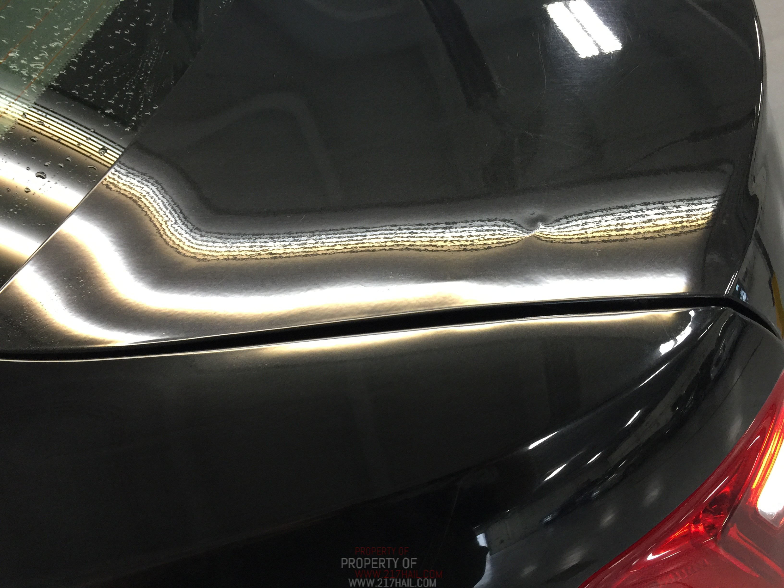 2014 Ford Taurus Poor Attempt At Dent Removal, Fixed properly by Michael Bocek from Springfield IL, Decatur IL, Taylorville IL. Mobile Dent Repair http://217dent.com
