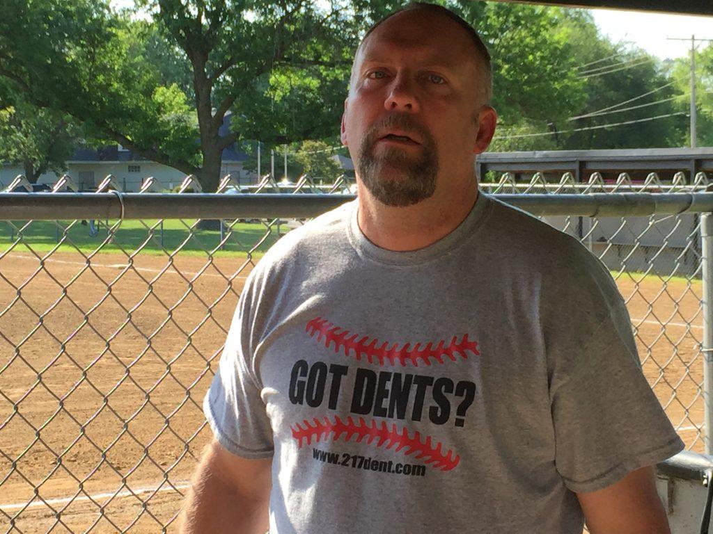 http://217dent.com Team Sponsor, Springfield, IL. Game 3 Tournament. Got Dents Baseball team.