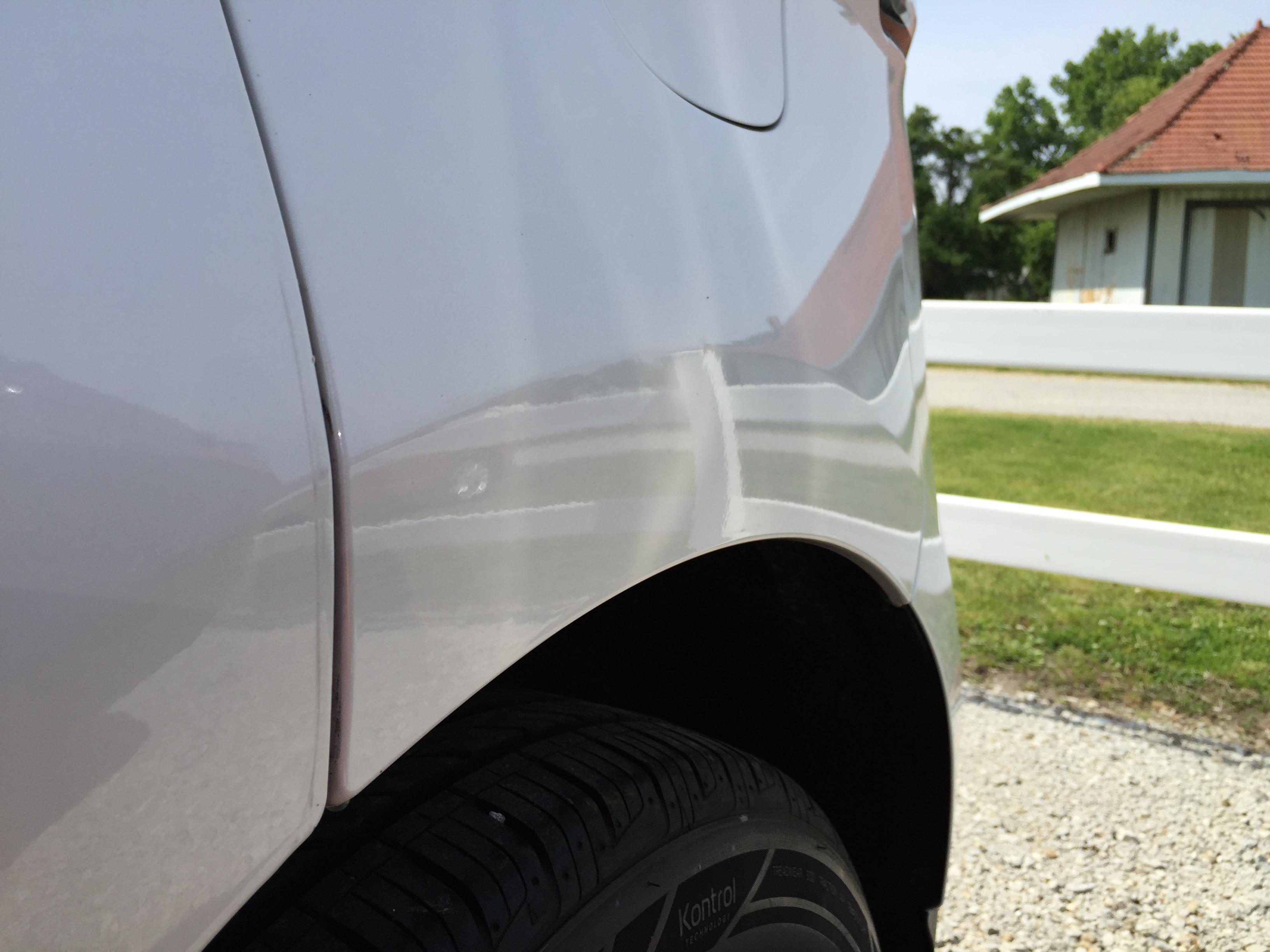 Springfield Dent Repair, Dent Removal, Hail Repair, 2015 Ford Edge Body Line Dent, Repair in Springfield IL, http://217dent.com