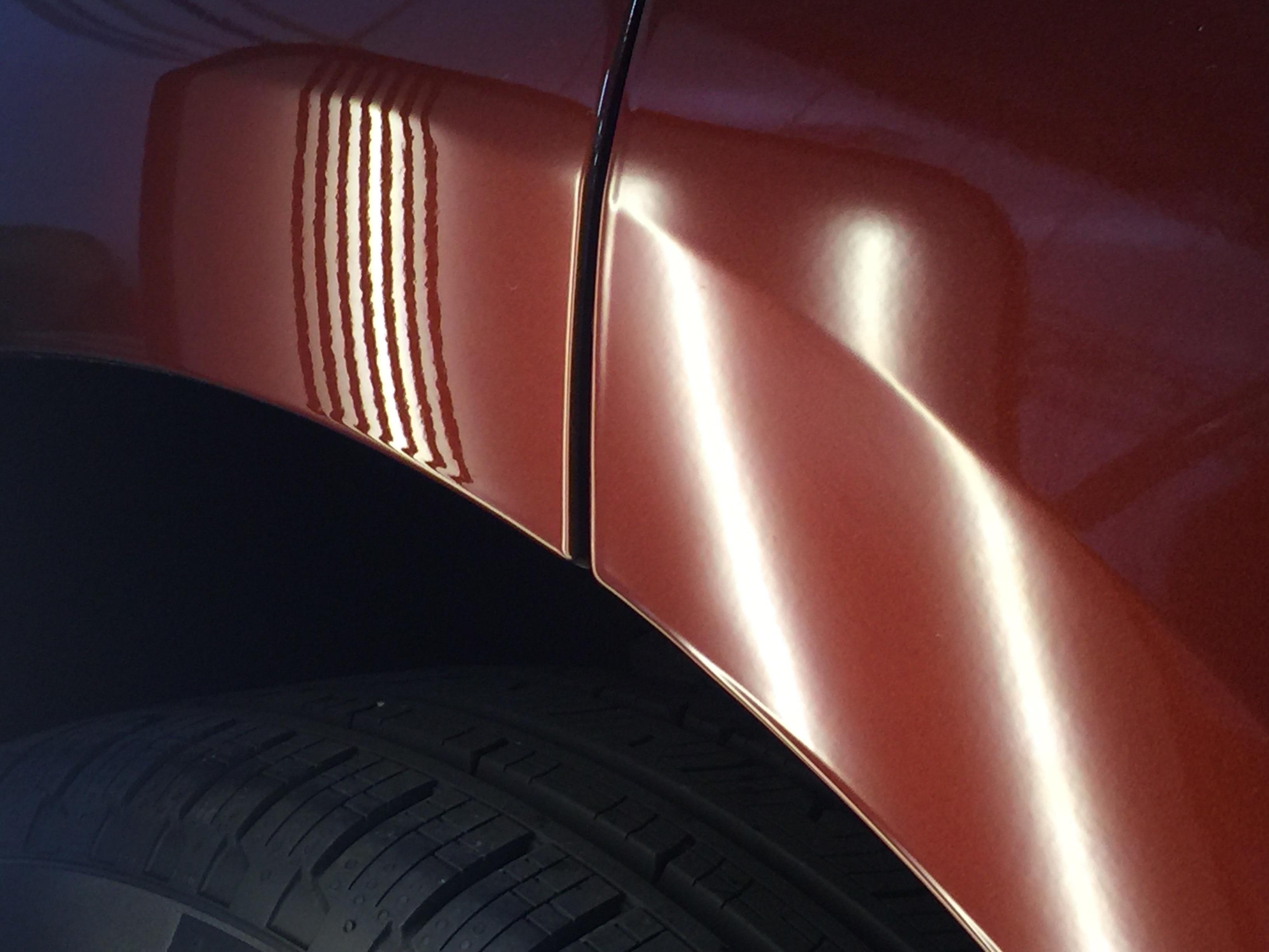 2016 Ford Edge Dent Repair Springfield IL http://217dent.com Passenger Rear Door, Dent Removal By Michael Bocek
