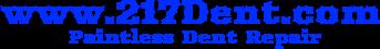 217 dent logo blue for video