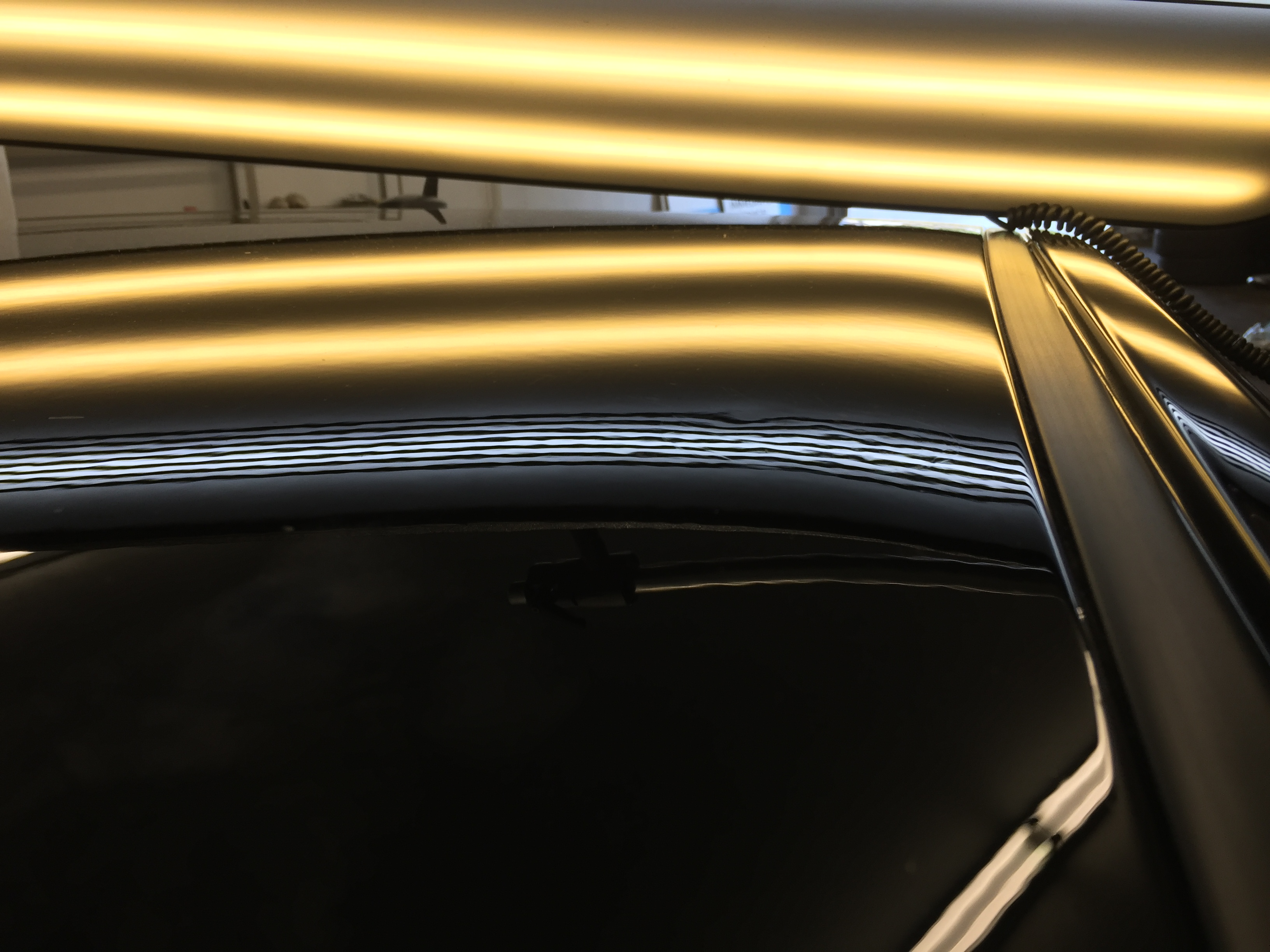 2015 Chevy Impala Large Dent Repair on Roof, Paintless Dent Repair Springfield, IL. Http://217dent.com