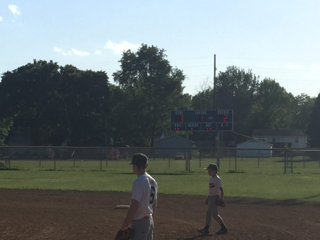June 6th Got Dents of Springfield IL, faced Noonans of Springield IL, Game 7 of Got Dents baseball season, Sponsored by Http://217dent.com