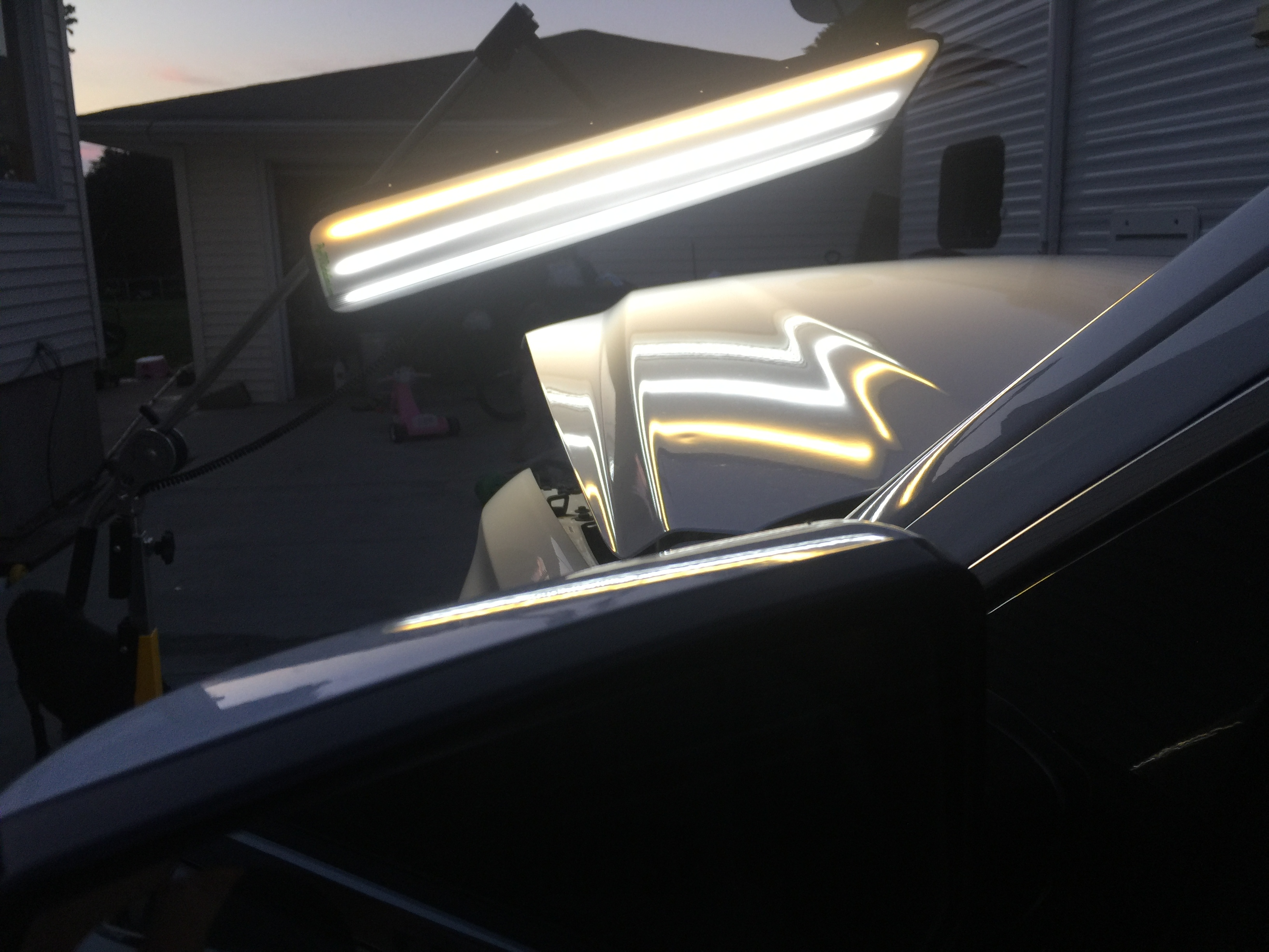 2016 Chevrolet Suburban, Dent Removal on Hood, Paintless Dent Removal Springfield IL, http://217dent.com