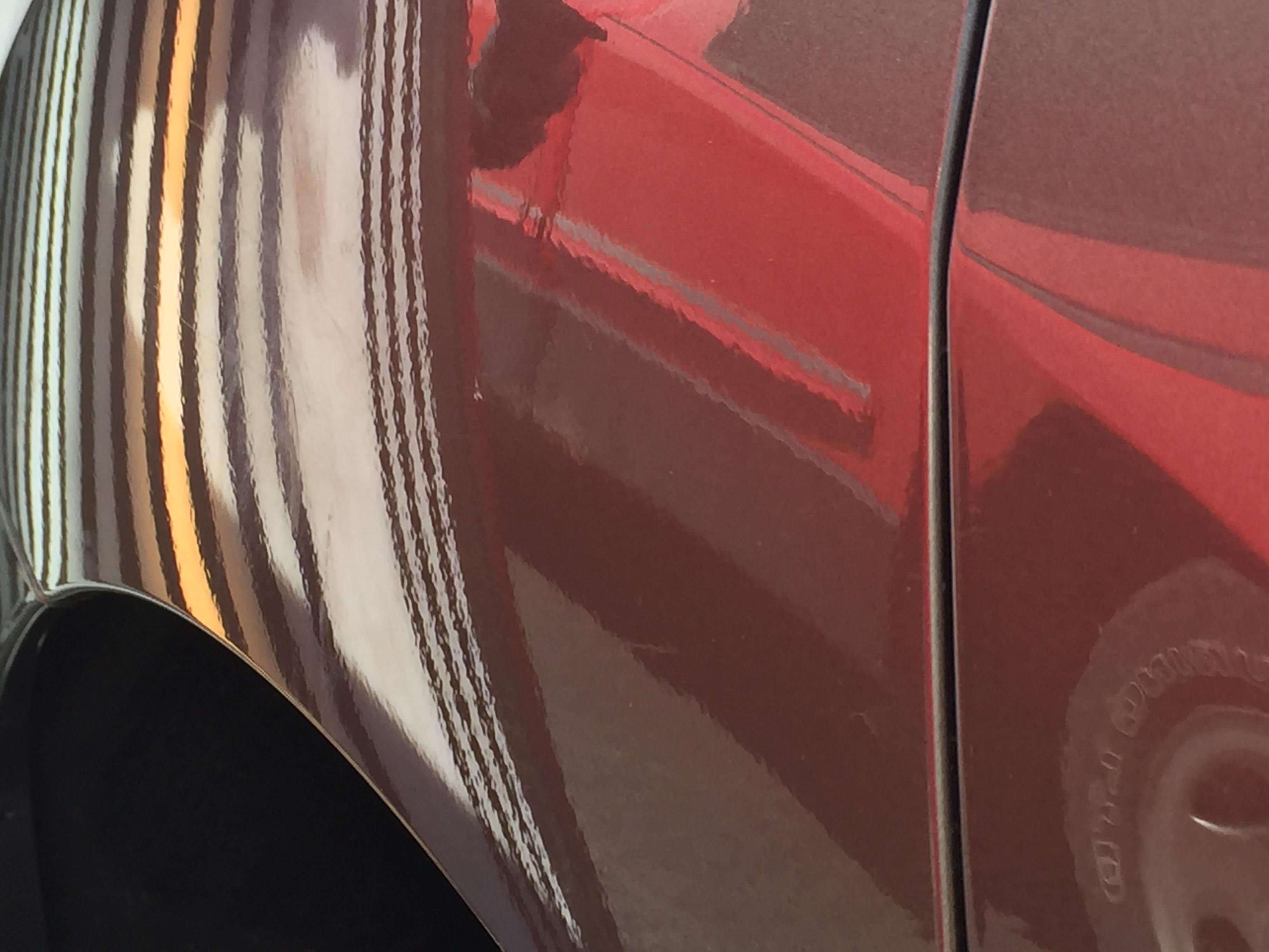 2012 Nissan Murano Rear Quarter Dent Repair, Paintless Dent Removal, http://217dent.com