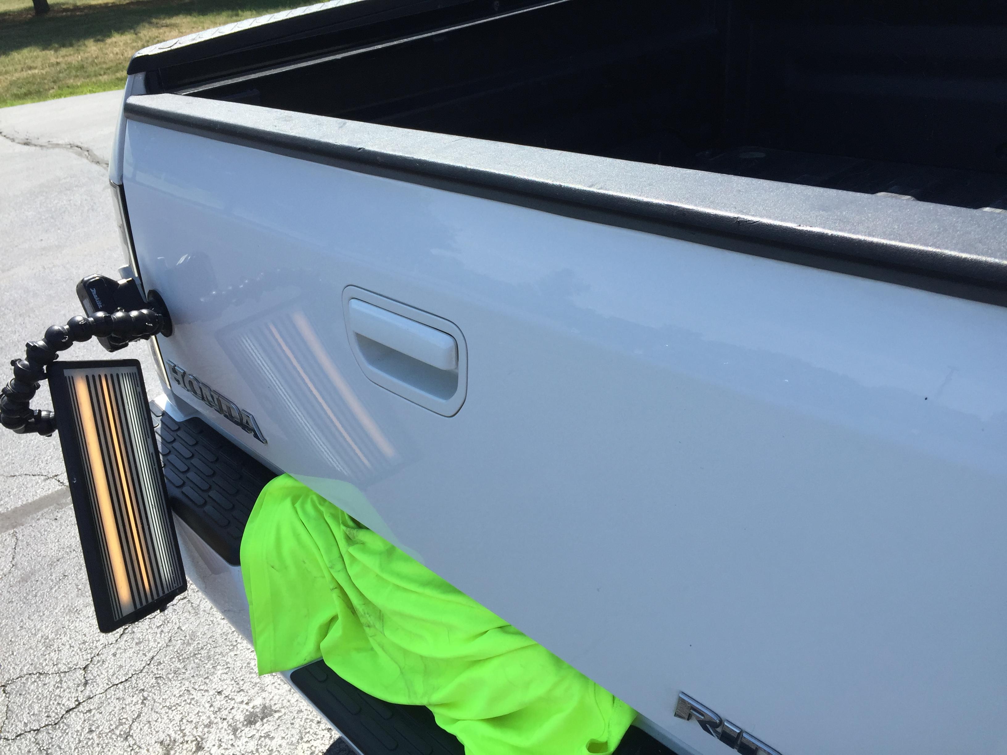 2008 Hond Ridgeline Dent Repair, Mobile Dent Repair, Springfield, IL Decatur, IL http://217dent.com