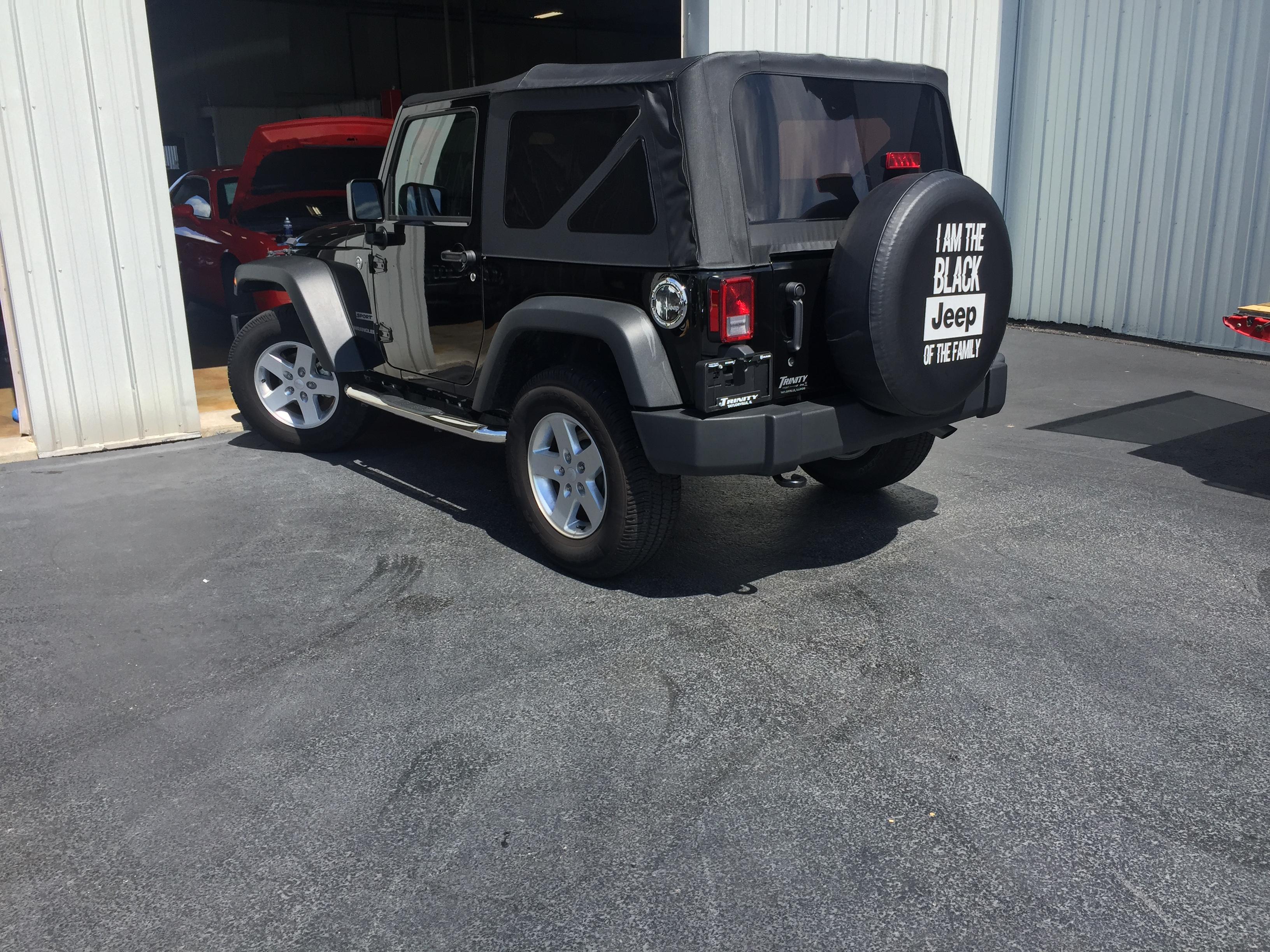 2015 Jeep Wrangler Dent Repair, Springfield, IL, http://217dent.com