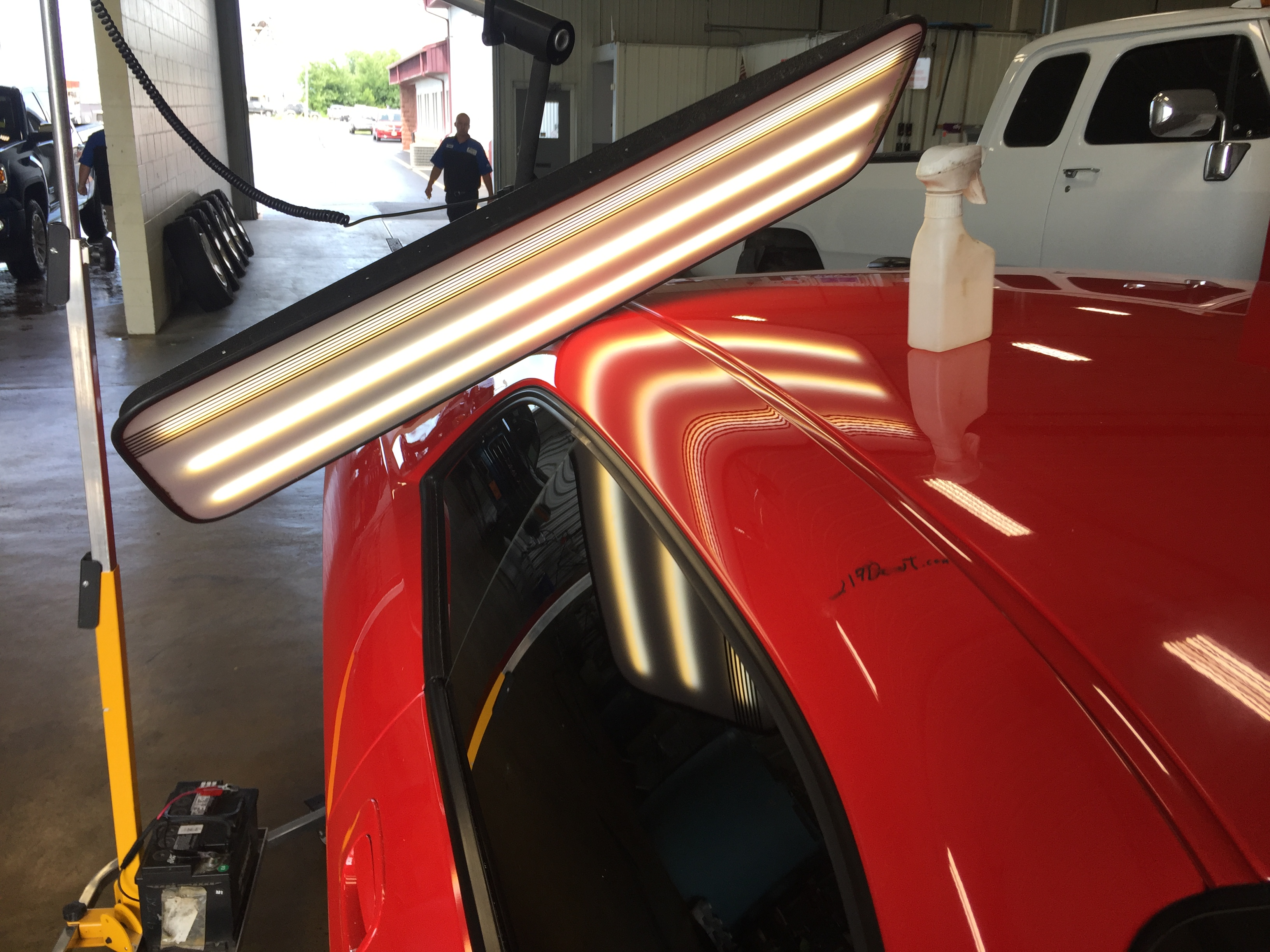 Paintless Dent Removal Cost >> 2009 Dodge Challenger SRT8 | Roof Rail Dent Removal ...