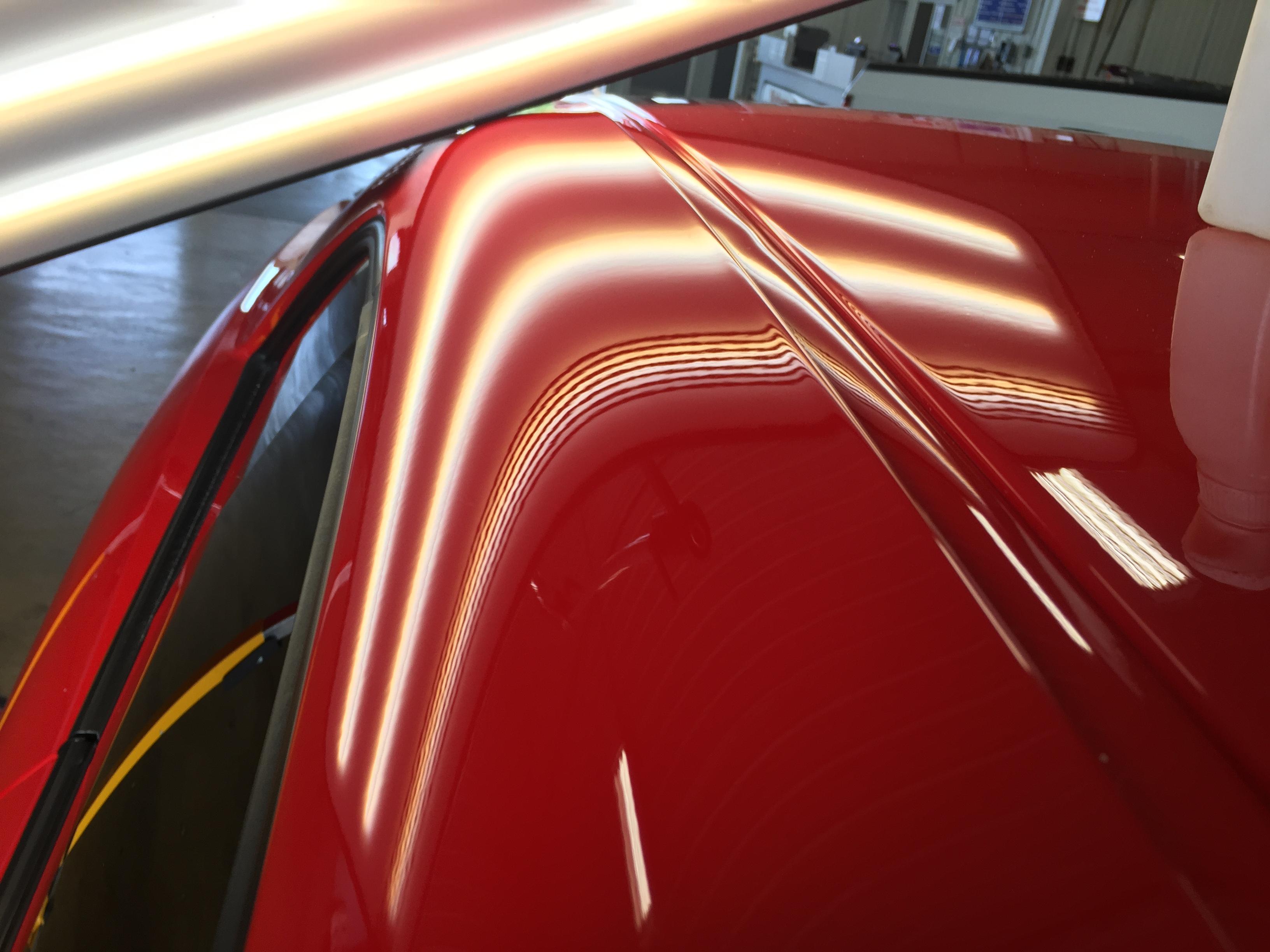 2009 Dodge Challenger Srt8 Roof Rail Dent Removal