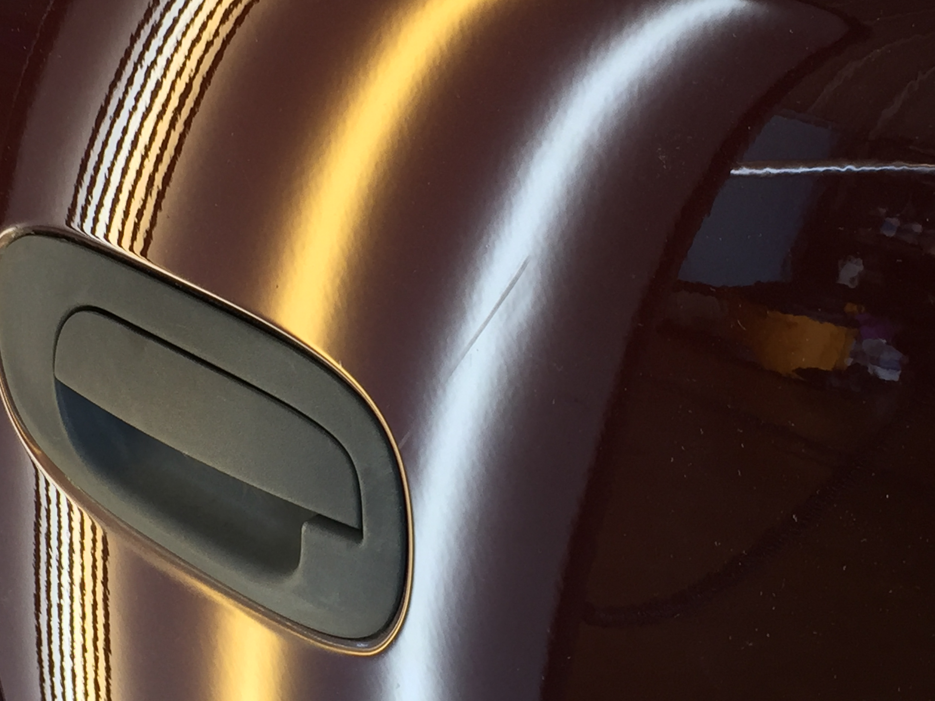 2004 Dodge Dakota Dent Repair in Springfield, IL, http://217dent.com dent was in the passenger rear door and repaird by Michael Bocek