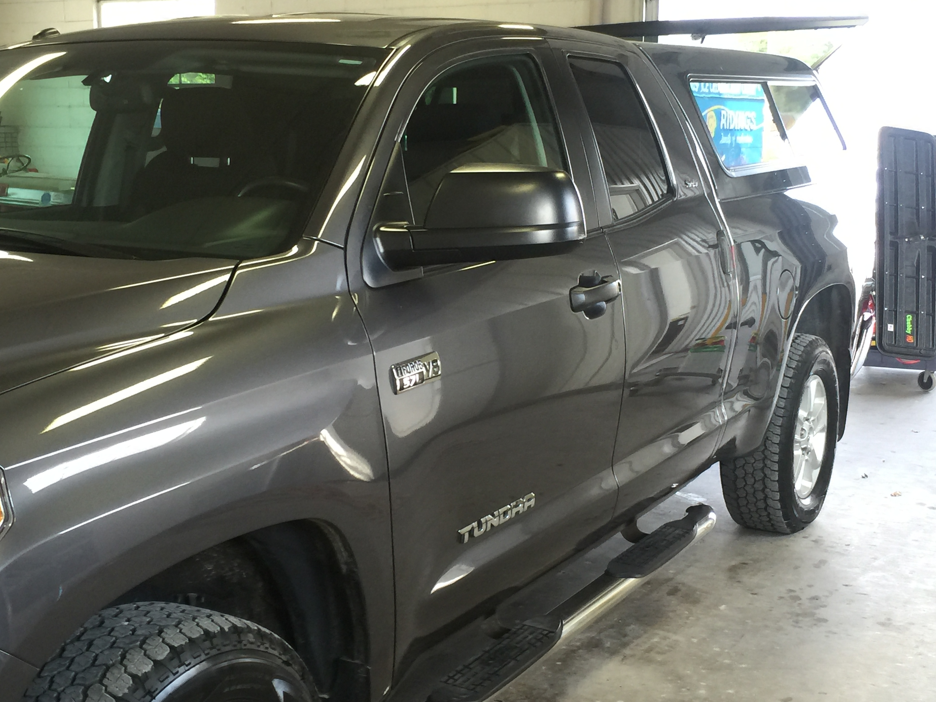 Dent Removal, Dent Repair, Dr. Dent. Springfield, IL 2014 Toyota Tundra bedside dent repair, Springfield, Decatur, Bloomington, Peoria, IL http://217Dent.com