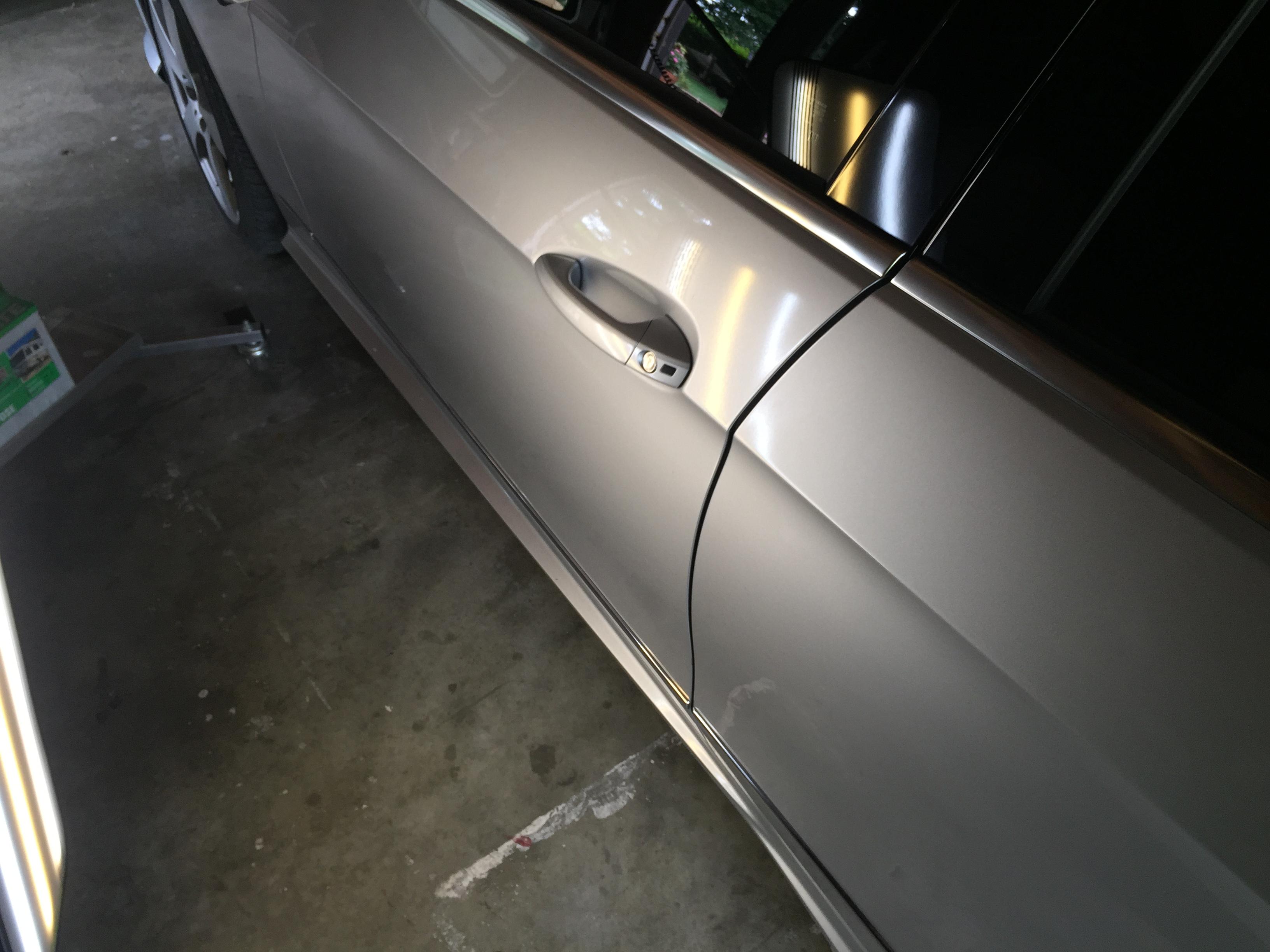 2010 Mercedes E350 Dent Repair, Springfield, IL. Http://217Dent.com Integirty Industries