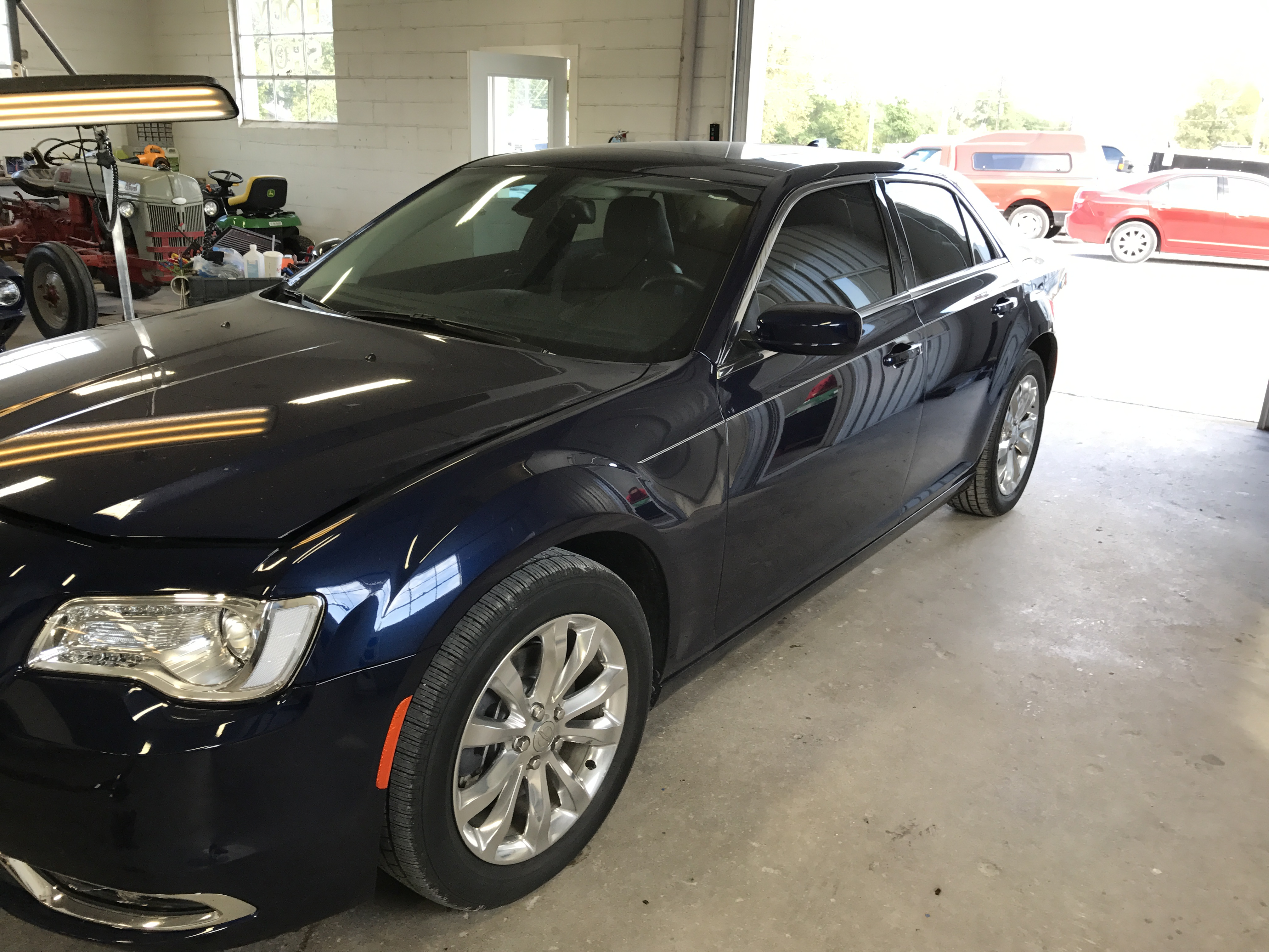 2016 Chrysler 300 Paintless Dent Removal, Springfield, IL. Dent Repair mobile dent removal, http://217dent.com