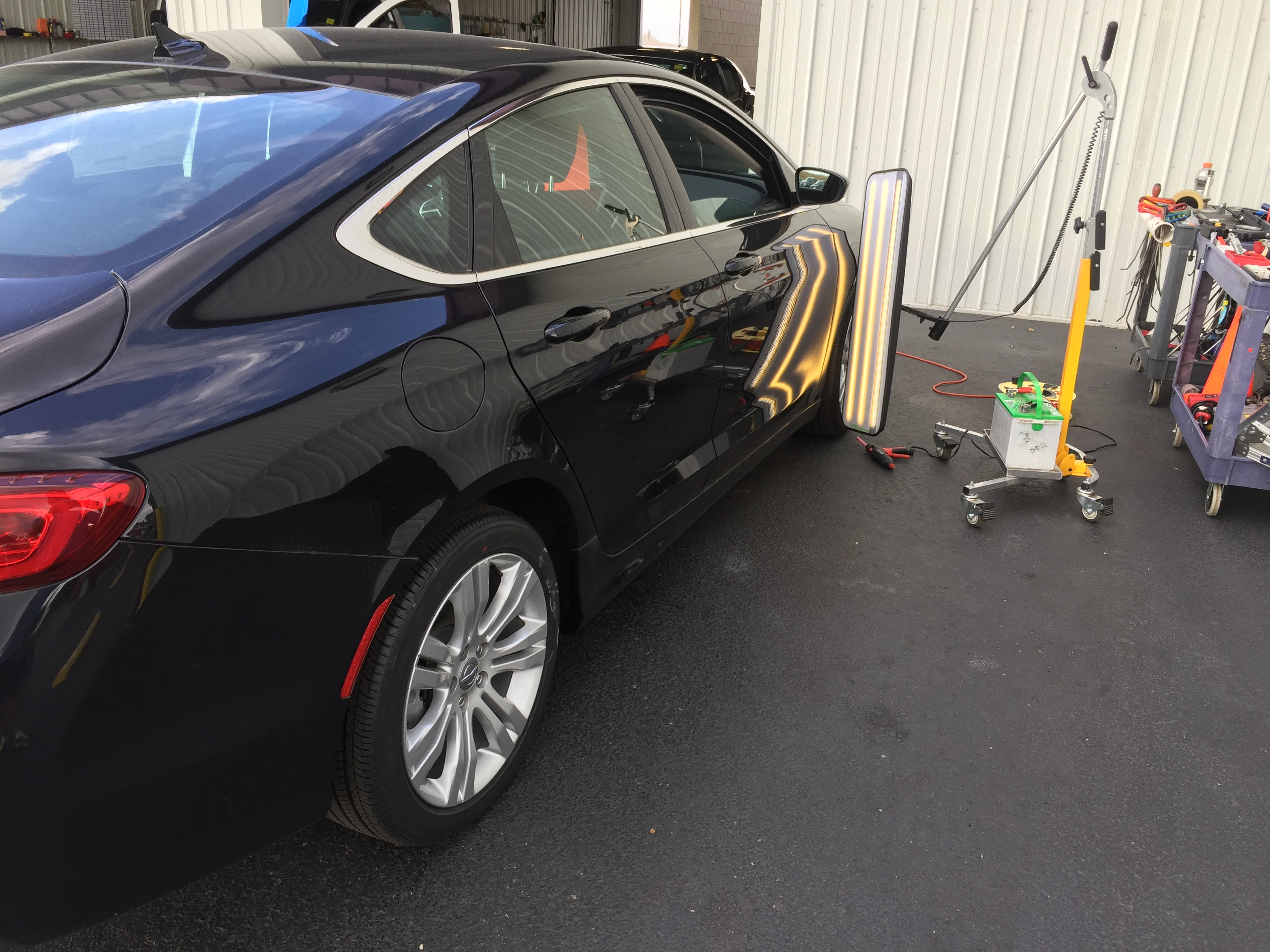 2016 Chrysler 200 Dent Removal, Springfield, IL. http://217dent.com Springfield Dent Removal, Ding repair, dent repair.