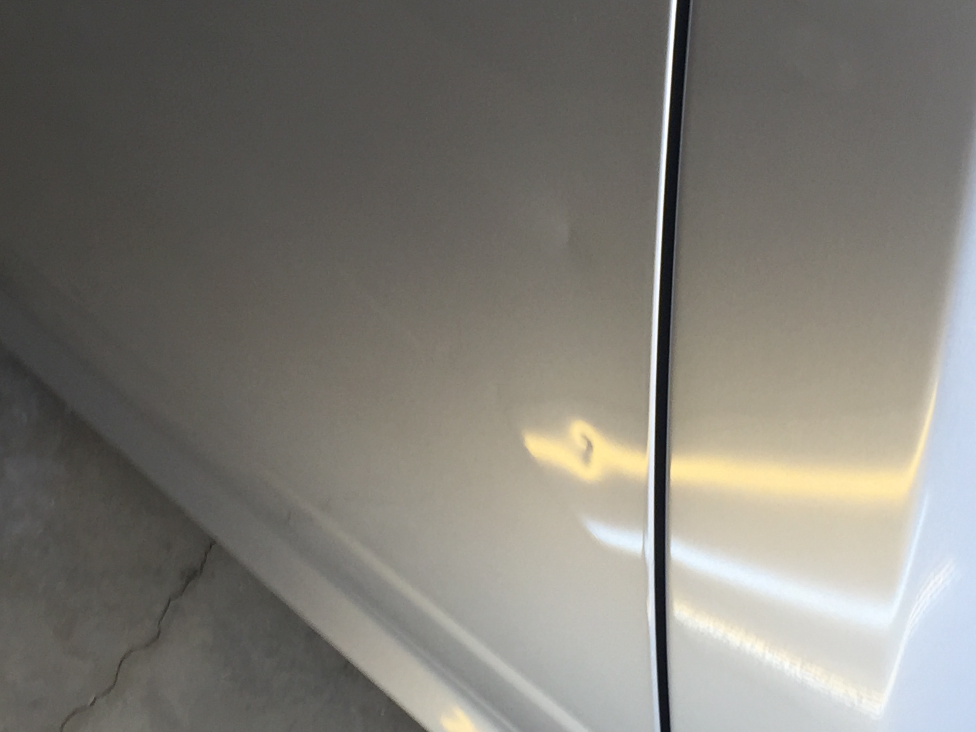 2015 Dodge Ram Dent Removal, Springfield, IL. Dent in drivers door, http://217dent.com