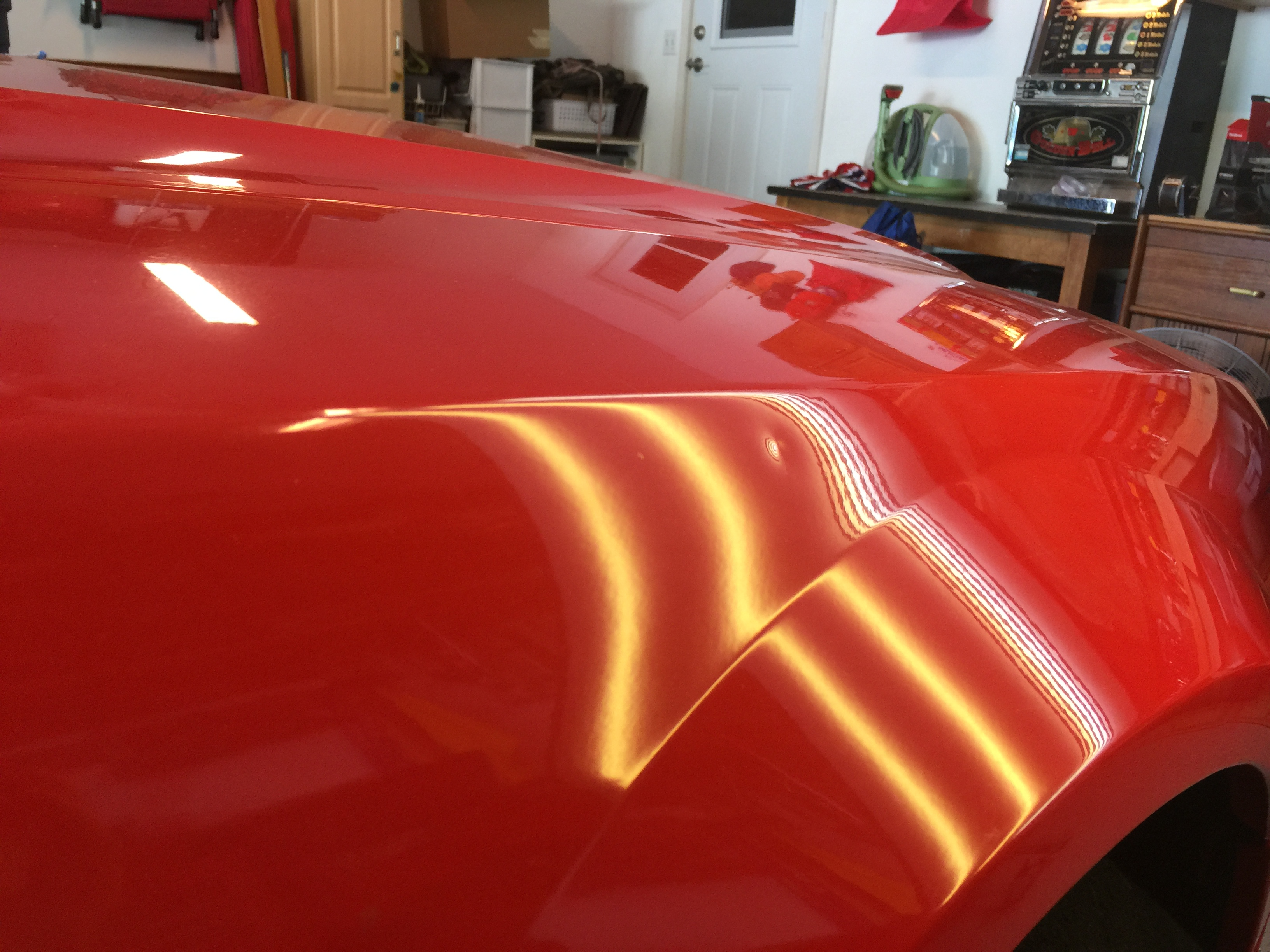 2000 Ford Mustang Fender Dent Removal, Springfield IL. Decatur IL, Paintless Dent Removal, http://217dent.com