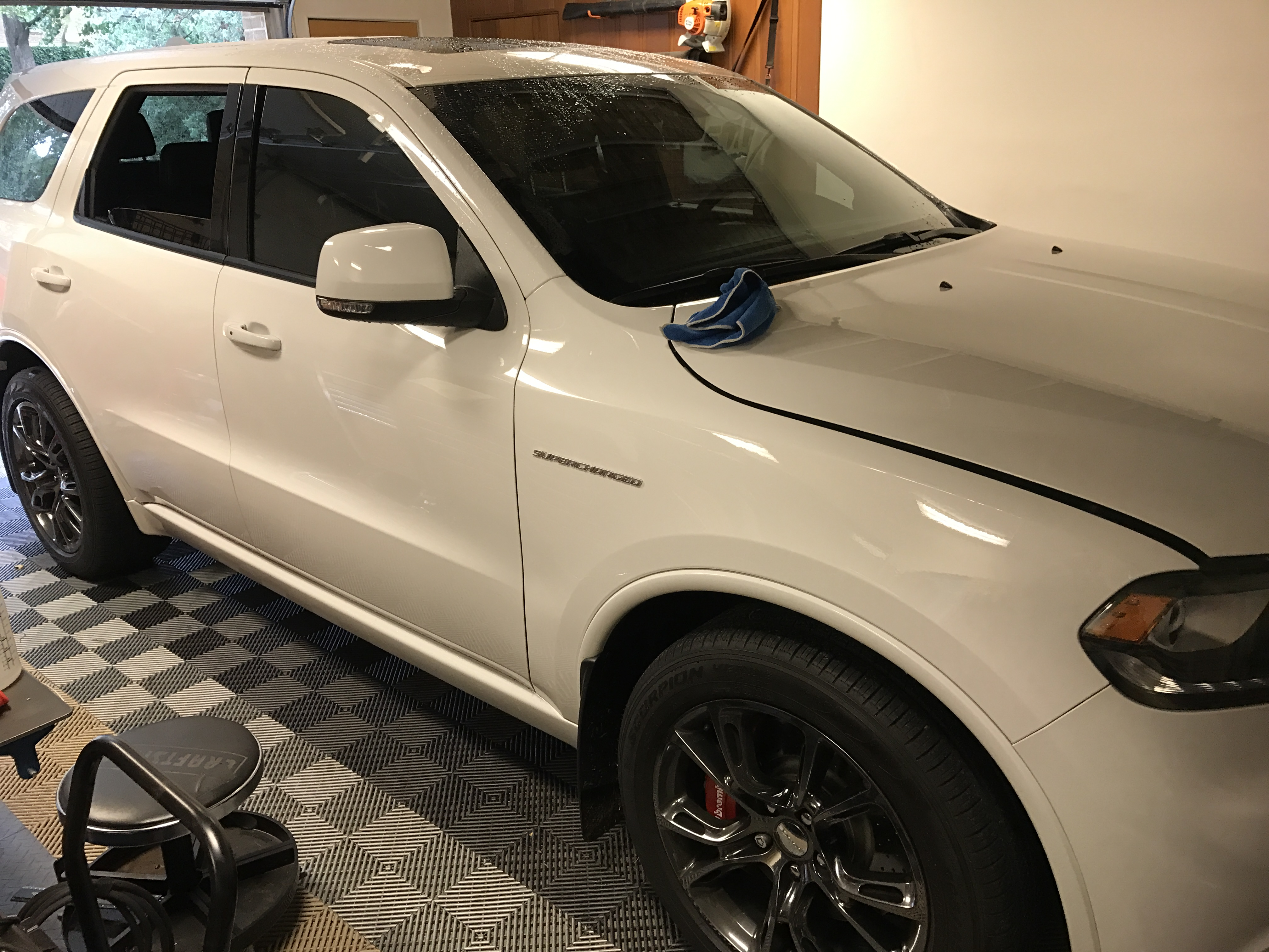 2015 Dodge Durango RT Paintless Dent Removal, Springfield IL http://217dent.com