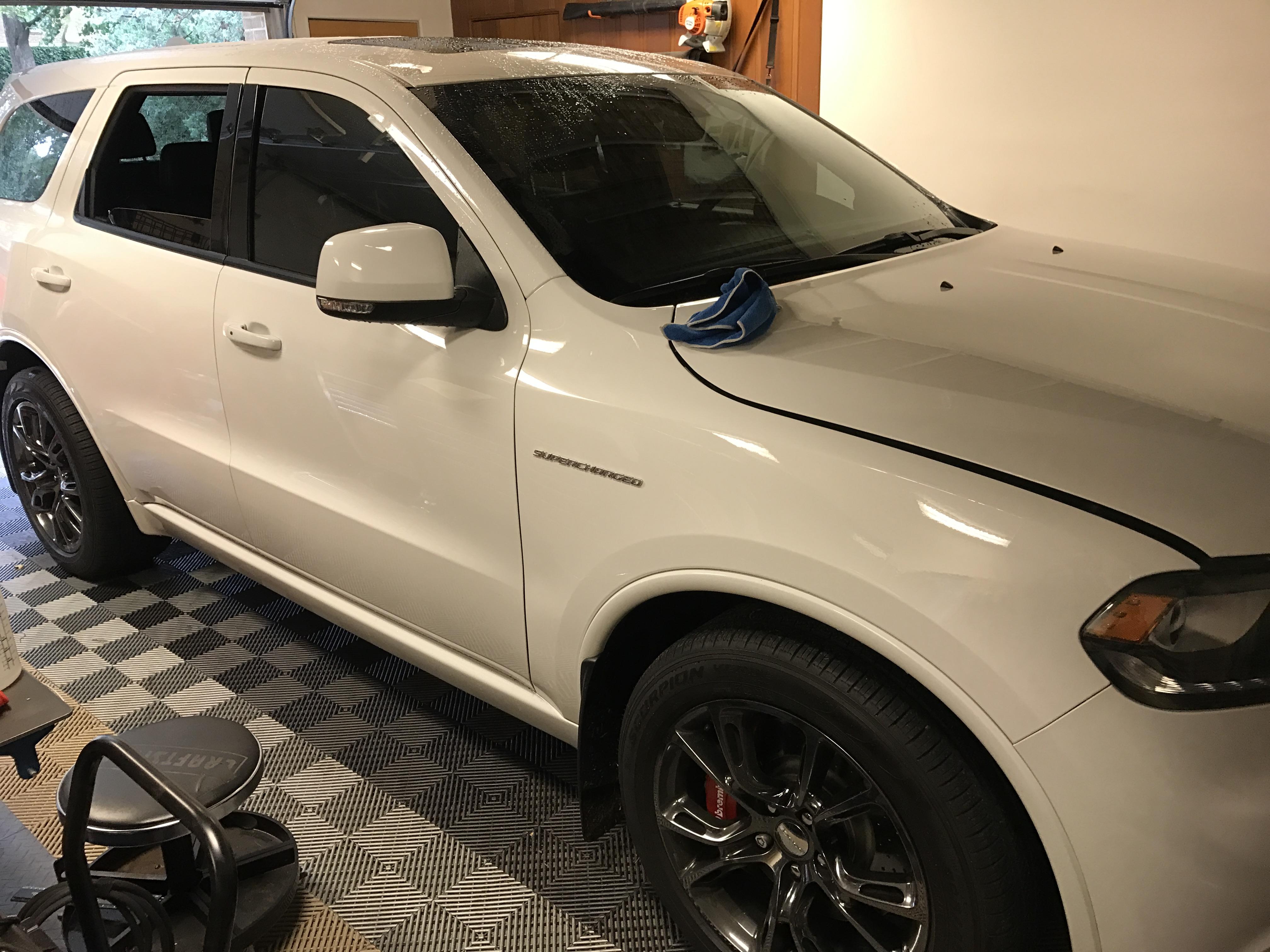 2015 Dodge Durango RT Paintless Dent Removal, Springfield IL http://217dent.com
