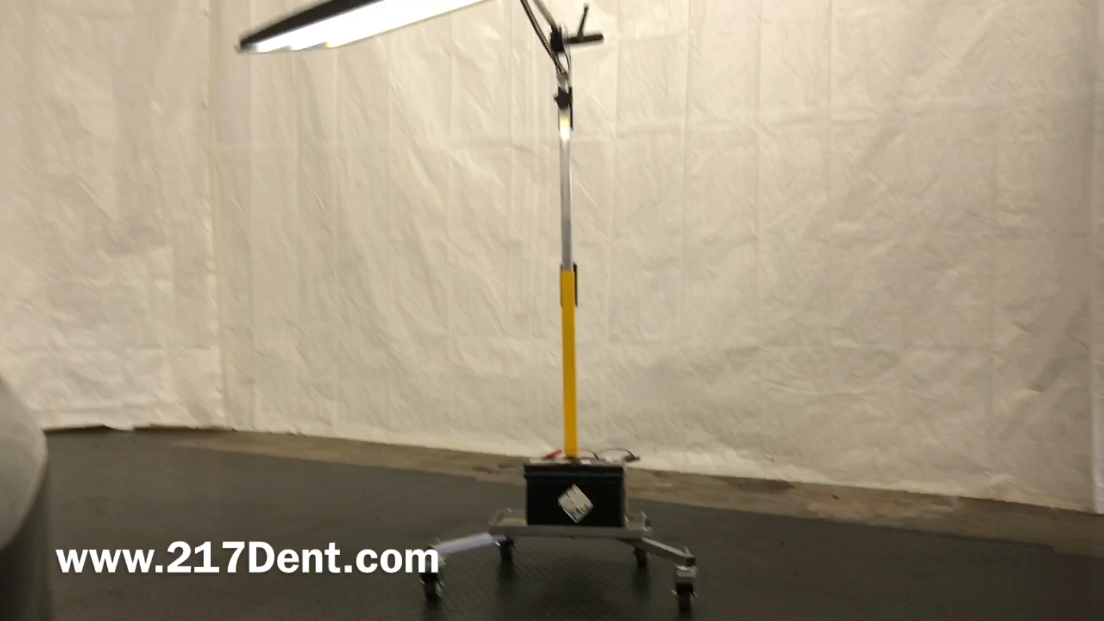 """Pro Pdr Solutions Light, paintless dent removal, 36"""" Chubby Springfield, IL. http://217dent.com"""