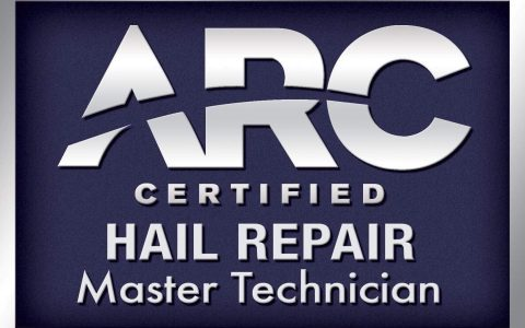 arc hail repair master tech. Michael Bocek