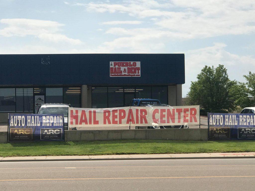Pueblo Colorado Hail And Dent Repair Paint Free Hail