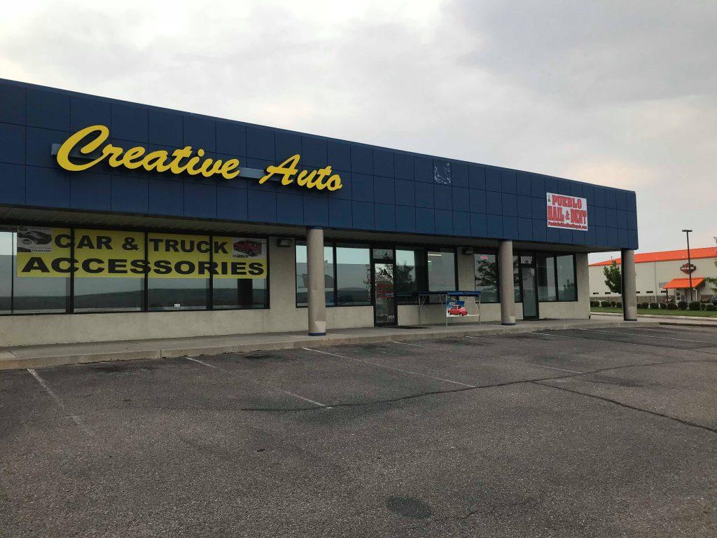 We are in between Creative Auto and Outpost Harley Davidson in Pueblo Colorado 30 minutes south of Colorado Springs. http://PuebloHailandDent.com