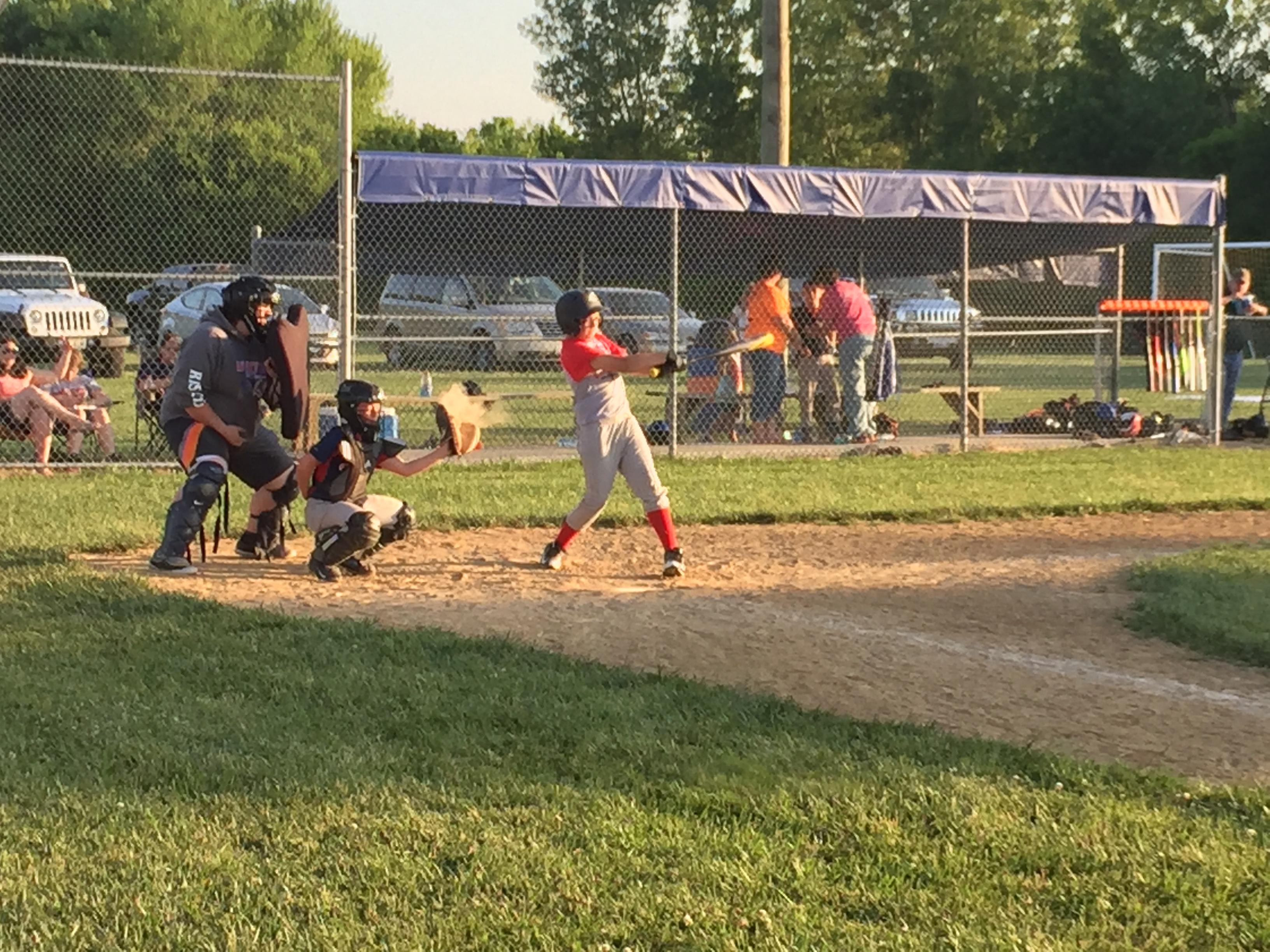 Got Dents of Springfield IL, Vs Riverton Twins of Riverton IL, Make up Game, Got Dents 15 vs Riverton Twins 5 http://217dent.com
