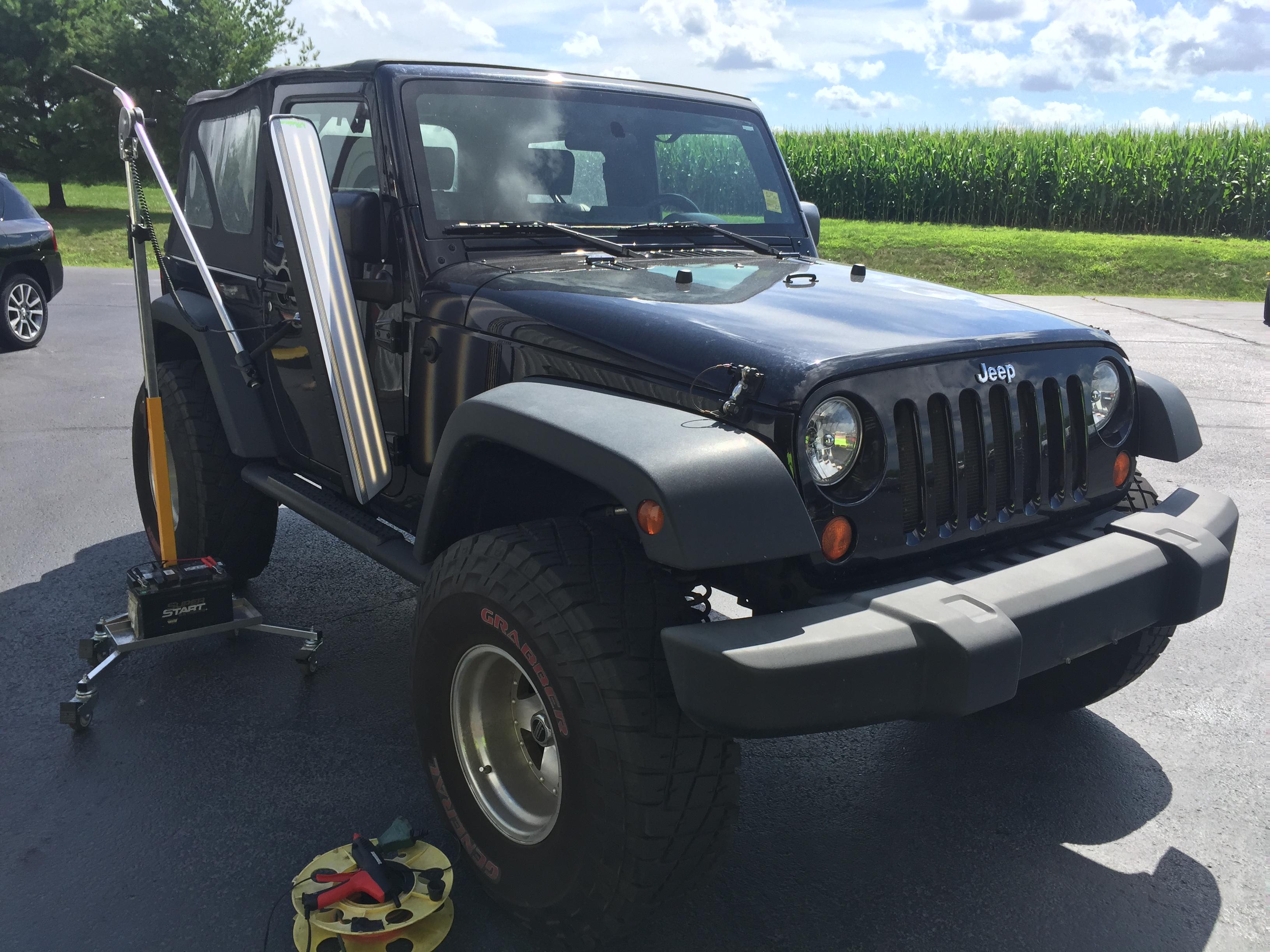 2008 Jeep Wrangler Dent Repair, Springfield, IL, http://217dent.com